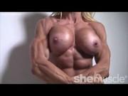 Порно видео с девушками культуристками