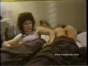 У тети на постели порно